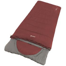 Outwell Contour Lux Sovepose, rød/grå
